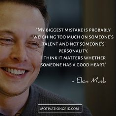 Elon Musk quotes about hiring