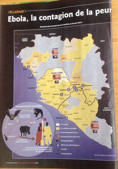 #Ebola : situation dans les pays les plus touchés au 18 août 2014 ( Alternatives internationales No 64 septembre 2014 )