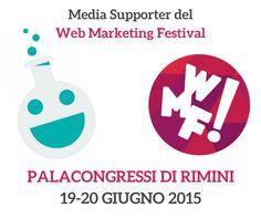 E' tutto pronto: il prossimo weekend si parte per il Web Marketing Festival! http://www.socialmedialife.it/social-media-news/eventi-social/web-marketing-festival-tra-formazione-e-divertimento/