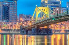 Clemente Bridge The Roberto Clemente Bridge, also known as the Sixth Street Bridge, spans the Allegheny River in downtown Pittsburgh, Pennsylvania, United States