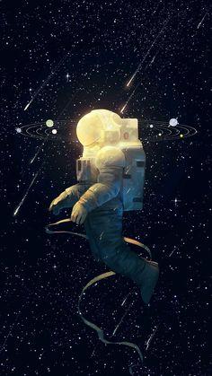 Creative Space: Illustrations and Photos Illustration Vector, Illustrations, Astronaut Illustration, Space Illustration, Inspiration Artistique, Art Watercolor, Muse Art, Grafik Design, Trippy