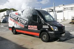 Davie Florida Mercedes Benz Sprinter Van Commercial Vehicle Wrap  http://www.carwrapsolutions.com/Sprinter-Van-Wrap.html
