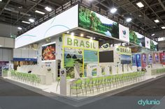 Brasil #stand at #ITB2017