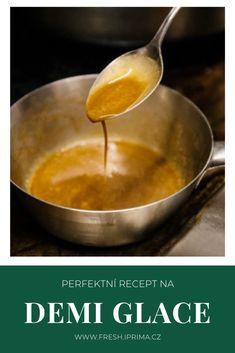 #demiglace #omacka #recept #primafresh Fondue, Pudding, Cheese, Ethnic Recipes, Desserts, Flan, Postres, Custard Pudding, Puddings