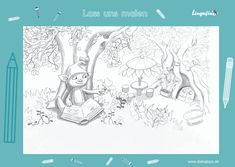 Lingufino Ausmalbilder