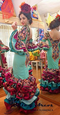 COLECCION 2015 - MODA FLAMENCA 2015, (Trajes Flamenca Granada, Venta de trajes de Flamenco, vestidos de gitana, vestido de sevillanas) Gypsy Punk, Dance Pictures, Piece Of Clothing, Traditional Outfits, Beautiful People, Halloween Costumes, Give It To Me, Fashion Dresses, Flamenco Dresses