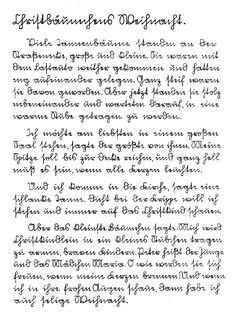 Kurrent—500 years of German handwriting