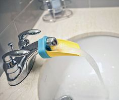 Need to extend the flow of your bathroom sink faucet? For whatever the reason, this awesome bathroom faucet. Dorm Room Accessories, Bathroom Accessories, Bathroom Sink Faucets, Amazing Bathrooms, Home Decor, Bathroom Fixtures, Decoration Home, Bathroom Basin Taps, Room Decor