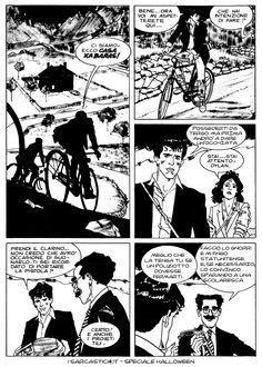 Pagina 35 - L'alba dei morti viventi - lo speciale #Halloween de #iSarcastici4. #LuccaCG15 #DylanDog #fumetti #comics #bonelli