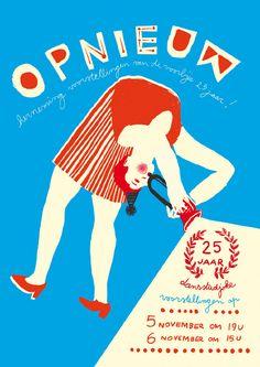poster by Trui Chielens, via truichielens.com