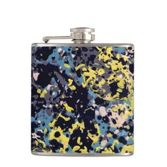 SUMMER DAZE ~ Small Flask  Original paintings can be found for sale through my Amazon store at: http://www.amazon.com/shops/artmatrix or you can make direct arrangements for them through me. JMO Zazzle designs: http://www.zazzle.com/thewhippingpost?rf=238063263784323237 To help an artist, you can donate here: http://www.gofundme.com/6am6lg