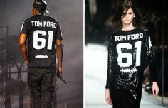 #TomFord #Womenswear #Fall #Winter 2014 #London #Fashion #Week #SequinedDress #Sequins #Dress #Maxi #Vestidos #Sport #Disco #BOGUE #Catwalks #JayZ
