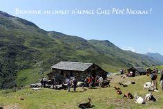 Chalet d'alpage Chez Pépé Nicolas, restaurant terrasse ferme