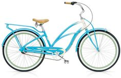 Electra Super Deluxe Women's Cruiser Bike....I so want this in red!