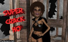 Super Crack Ho Wallpaper #superhero #crackho