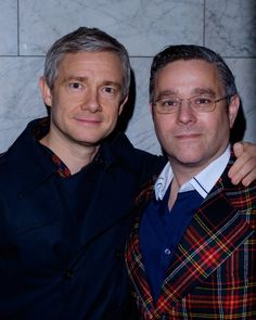 Snapped! Martin Freeman & #andynyman at the gala night for Derren Brown #Miracle