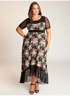 Samantha Plus Size Maxi Dress - Dresses by IGIGI