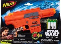 Blaster Glowstrike di Nerf ispirato al Capitano Andor di Rogue One: i dardi si illuminano al buio!! Offerte e prezzi su idealo.it
