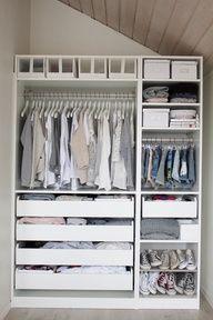 bedroom pax wardrobe interior design ideas - Google Search