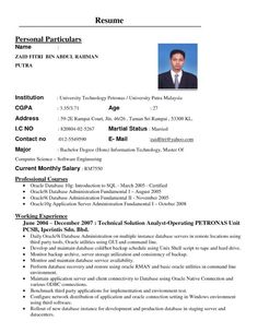 Formats Of A Resume Glamorous List 7 Different Resume Formats  Resume Format  Pinterest  Resume .