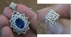Beading Tutorial: how to make a post beaded earring