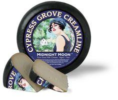 Cypress Grove Midnight Moon Goat Cheese.