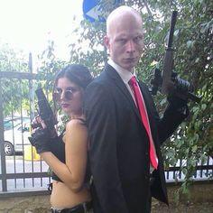 Agent 47 & Lara Croft