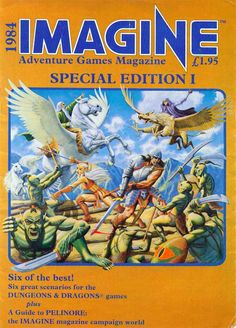 El Descanso del Escriba: Imagine Magazine Special I,1984 (TSR UK) en PDF