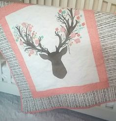 Hey, I found this really awesome Etsy listing at https://www.etsy.com/listing/288644835/fawn-in-tulip-woodland-crib-bedding-girl