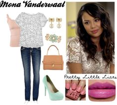 """""""Pretty Little Liars: Mona Vanderwaal"""" by crazykidcandace on Polyvore"""