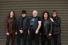 The heavy metal band, UFO, has announced a U.S. co-headline tour with Saxon, for March and April. Jared James Nichols will join the tour.