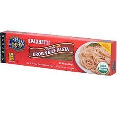 Lundberg, Organic Brown Rice Pasta, Spaghetti, 10 oz (284 g)