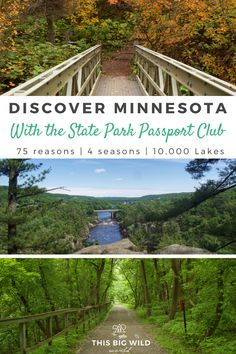Is Minnesota the most under-rated state for outdoor adventurers? Fall in love with hiking in Minnesota and find endless trails with the Minnesota State Parks Passport! Minnesota Camping, Minnesota Hiking Trails, Duluth Minnesota, Michigan, International Falls, It Goes On, United States Travel, Travel Usa, Canada Travel