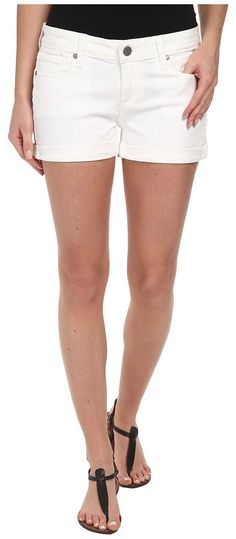 Paige Jimmy Jimmy Short in Optic White (Optic White) Women's Shorts - Paige, Jimmy Jimmy Short in Optic White, 1226274-OWT-101, Apparel Bottom Shorts, Shorts, Bottom, Apparel, Clothes Clothing, Gift, - Fashion Ideas To Inspire