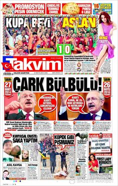 #20160527 #TürkiyeHABER #TURKEY #TurkeyTodayNEWSpapers20160527 Friday MAY 27 2016 http://en.kiosko.net/tr/2016-05-27/ + http://www.trthaber.com/foto-galeri/gazete-mansetleri-27-mayis-2016/10592/sayfa-6.html <+> #TAKVIM20160527 http://en.kiosko.net/tr/2016-05-27/np/takvim.html