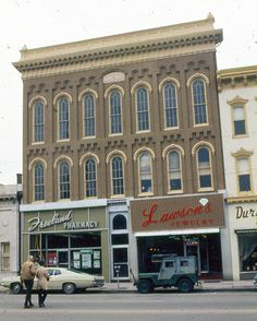 """Danville, Ky's Masonic Hall, 1970s - Join us for """"From Artistry to Everyday Use: An Intimate Look at Danville's Historic Architecture"""" on 9.18.2013"""