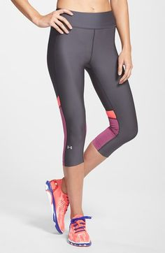 Free shipping and returns on Under Armour 'Alpha' HeatGear® Capris at Nordstrom.com. Ultra-snug compression capris crafted from stretchy, sweat-wicking and lightweight HeatGear fabric offer stay-put coverage and keep muscles fresh for a speedier recovery time—and a speedier personal time.