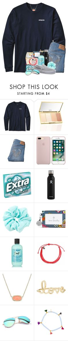 """""""I'm an anchor for the schools news channel now!!"""" by southernstruttin ❤ liked on Polyvore featuring Patagonia, Hollister Co., Hydro Flask, Vera Bradley, Bumble and bumble, Pura Vida, Kendra Scott, Sydney Evan, Ray-Ban and Shashi"""