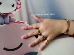 I'm Leah,It's my Cartier love bracelet and Cartier love ring,cheap price and good quality on: http://www.yourcartier.com