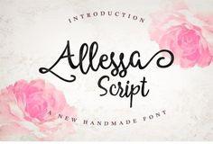 Allessa Script Font – Creative Alys