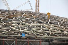 Construction of Louvre Abu Dhabi