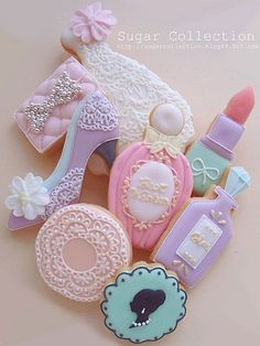 With all the cookie cutters I own, I don't have a high heeled shoe or lipstick!! Love these - Amber