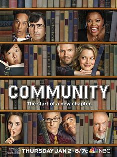 Community With Joel McHale, Danny Pudi, Donald Glover, Chevy Chase. A suspended lawyer is forced to enroll in a community college with an eclectic staff and student body.