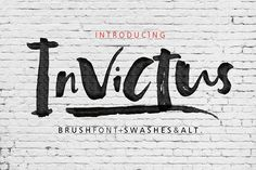 Invictus by Fargun Studio on @creativemarket
