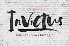 Invictus by Fargun Studio on @creativemarket