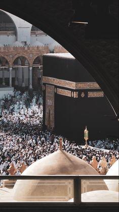 Muslim Images, Islamic Images, Islamic Pictures, Mecca Wallpaper, Islamic Quotes Wallpaper, Mekka Islam, Tahajjud Prayer, Mecca Masjid, Mosque Architecture