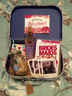 Will you be my Bridesmaid/Maid of Honor box