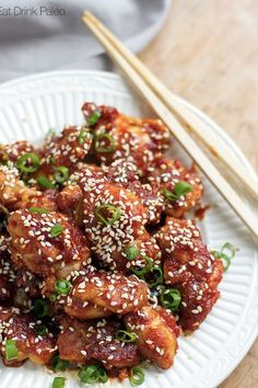 KOREAN-STYLE SPICY CHICKEN. 20 Paleo Chicken Recipes to Break You Out of Your Dinner Rut #purewow #easy #paleo #recipe #food #chicken #lunch #chickenrecipes #healthyeating #healthydinners #easyrecipes #paleorecipes