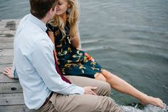 Sweet Summer Engagement Session by Brooke Schultz Photography - Mon Cheri Bridals Engagement Couple, Engagement Pictures, Engagement Shoots, Image Photography, Couple Photography, Engagement Photography, Park City, Foto Casual, Our Wedding Day