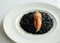 Squid Ink Risotto Recipe - Great British Chefs